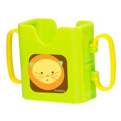All new from InnoBaby, this expandable drink holder  works with milk or juice boxes, water bottles, and juice pouches. In between snack times, simply fold it up and stow it in a lunch box, backpack, or purse pocket.