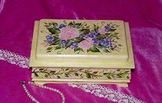 Elegant Tea Box Wood Tea Chest Organizer Hand by EssenceOfTheSouth, $68.50