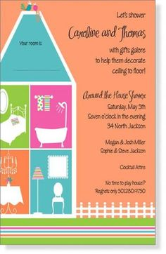 Around the house bridal shower invitations around the house bridal around the house bridal shower invitations around the house bridal shower invi wedding shower pinterest bridal showers shower invitations and filmwisefo