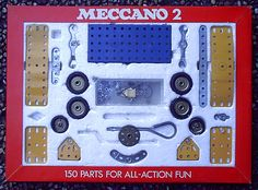 A Meccano set wasn't the obvious choice for a favourite toy for a little girl in the . Picture: Some pieces from a Meccano 2 set. 1970s Childhood, Childhood Memories, Childhood Toys, Retro Toys, Vintage Toys, 1970s Toys, Vintage Signs, My Teddy Bear, Kids Growing Up