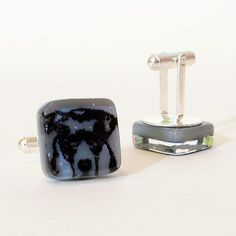 Make your own personalized cufflinks with image of your beloved pet.