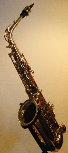 Here is a picture of Andres' Roy Benson Saxophone. The one he used in the Jingle bells and The Godfather video! :D