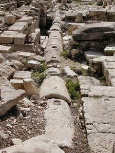 Roman Plumbing was fairly advanced for its time. Rome had a very complex sewer system that went throughout the city. Stone pipes ran under the streets of Rome.