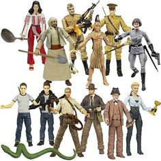 Indiana Jones Action Figures Wave 3 Revision 3 - Hasbro - Indiana Jones - Action Figures at Entertainment Earth Item Archive