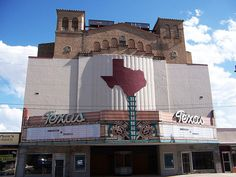 Texas Theater, downtown San Angelo, TX.