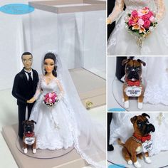 caraarteembiscuit #noivinhospersonalizados #rosario #biscuitpersonalizado #noivinhos #caketopper #weddinginvitation #vestidodenoiva #lovedogs #dog #wedding #caraarteembiscuit #cachorro  #wedding #weddings #weddingstyle #weddingcake #bolodecasamento #enfeitedebolo #vestidonoiva #noiva #noivos #casamento #casando #casacomigo #love #dream ❤️ orçamento: caraarteembiscuit@yahoo.com.br, ou envie uma mensagem inbox na página https://facebook.com/caraarteembiscuit