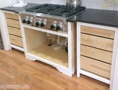 Installing inset drawers (where the drawer front will be flush with the face frame) is simple enough. You simply have to block out the cabinet behind the face frame.You can do that any number of ...