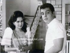 with her Husband, Actor (King of Philippine Movies) Fernando Poe Jr. Philippines Culture, Manila Philippines, Sampaguita, Queen Movie, Filipino Culture, Filipiniana, Old Love, Vintage Comics, Vintage Photos