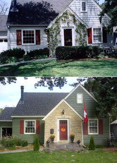 Exterior Remodel Diy House Updates, Remodeling Mobile Homes, Home Remodeling,  Home Renovation,
