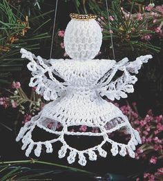 "Free pattern for ""Angel Ornament""!"