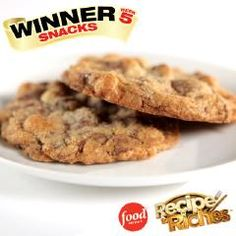 Smart Cookie: This is the winning recipe from Recipe to Riches within the Snack Category, which was developed by Sonya Walos. Gf Recipes, Dairy Free Recipes, Cookie Recipes, Snack Recipes, Snacks, Gluten Free Chocolate Chip Cookie Recipe, Gluten Free Cookies, Smart Cookie, Healthy Desserts