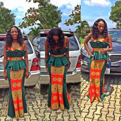 Ankara Fabric has literally over-time taken over every single event in Africa, and it's not even taking a break as more and more styles spring up every now and…