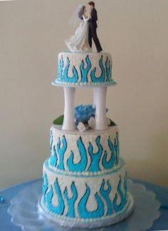 flame wedding cake - Bing Images