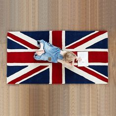 Union Jack rug - want to find one for my English themed bathroom