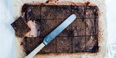 Chocolate + Walnut Brownies via @iquitsugar