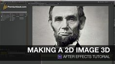 Video Tutorial: Making a 2D Image 3D in After Effects. We'll use the displacement map to give 2D pictures a 3D look in After Effects.  See t...