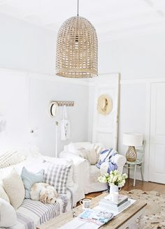 beach cottage spring - Cottage Decorating Blogs