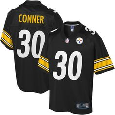 4c9019a49 James Conner Pittsburgh Steelers NFL Pro Line Big   Tall Player Jersey -  Black