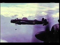 Avro Lancaster Bomber - Rare WWII Colour Film of the Lancaster