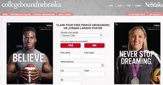 CollegeBoundNebraska.com Free Prince Amukamara or Jordan Larson Poster - US