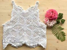 Como fazer um top em crochet   Projetos de crochet - FabricTrait