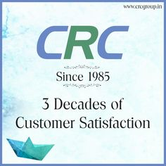 CRC is one fine example of Trust & Transparency. Our prime objective has always been to deliver what we promise, keeping client's satisfaction at the foremost. The Group has been built upon the very foundation of trust.