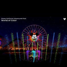 World of Color @ Disneyland CA Adventure