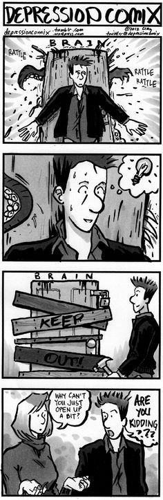 from the archive: depression comix #79 - main - Patreon