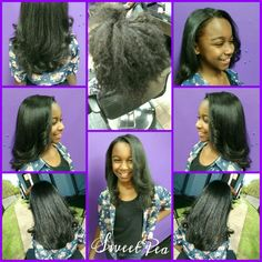 One step smoothing treatment