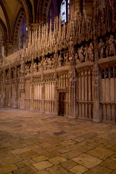 Chartres by chogenbo, via Flickr