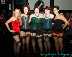 corsets: BURLESQUE! kathybergerphotography submitted me this Burlesque themed birthday. So original and you girls look lovely :) Who wants to have a birthday like this now?