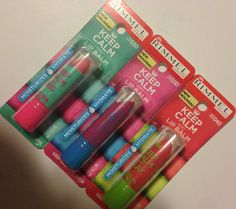 Rimmel London Keep Calm and Lip Balm   Swatches & Review