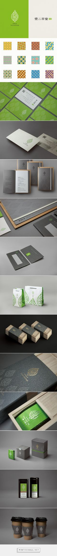 One2 Tea House packaging designed by Sump Design - http://www.packagingoftheworld.com/2015/08/one-2-tea-house.html