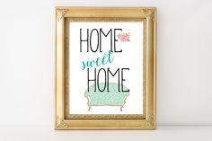Home SWEET Home - printable wall art $5