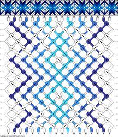 Muster # 70678, Streicher: 18 Zeilen: 18 Farben: 5