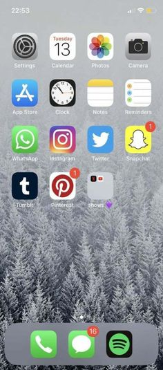 Trendy Home Screen Iphone Apps Icons Ideas Trendy Home Screen Iphone Apps Icons Ideas Iphone Home Screen Layout, Iphone App Layout, Organize Apps On Iphone, Whats On My Iphone, Phone Organization, Smartphone, Iphone Icon, Best Iphone, Iphone 11