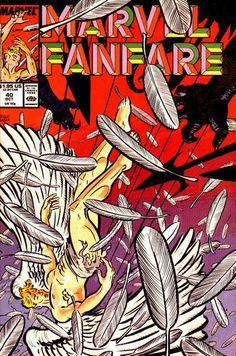 Marvel Fanfare # 40 by David Mazzucchelli