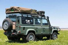Land Rover Defender 110 Td4 Sw adventure prepared expedition.