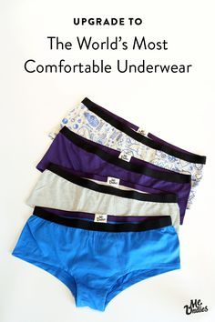 Try the world's most comfortable underwear today. Love 'em or your first pair is free.