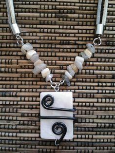 Gioiello collana girocollo con pendente. di Etno Style su DaWanda.com