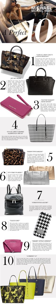 Michael Kors newsletter for Callaghan Collezioni 9 And 10, Layouts, Michael Kors, Bags, Handbags, Bag, Totes, Hand Bags