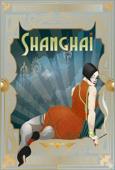 Shanghai Deco by BoodaBrand on Etsy, $425.00