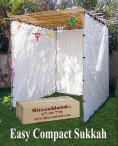 Mitzvahland Sukkah EZ Easy Compact 10x20 Feet - Sukah Suka Succah ** You can get additional details at the image link.