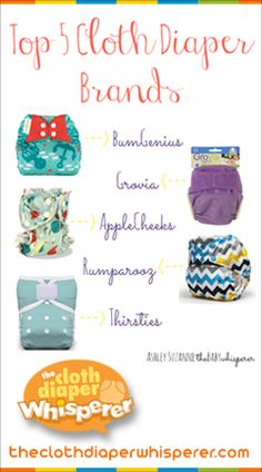 The Cloth Diaper Whisperer: Top 5 Favorite Cloth Diaper Brands from Kelly's Closet