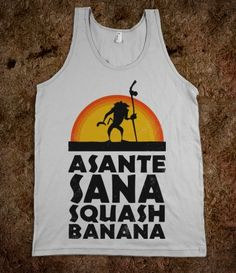 Asante Sana Squash Banana (Lion King Tank)
