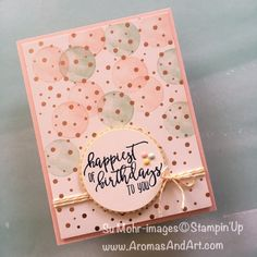 Thank you for stopping by today. Easter is a good day for birthdays. Since all of my Easter cards have been mailed, I'll share with you a birthday card, created with the Springtime Foils Designer Series Paper. Okay? The inspiration for this card is from the Fab Friday Challenge: Night of Navy with three subtle …