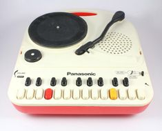 "Panasonic ""Do-Re-Mi"" Turntable Keyboard Do Re Mi, Portable Record Player, Home Music, Experimental Music, Music Machine, Arduino, Vinyl Junkies, Dj Equipment, Record Players"