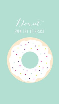 HAPPY DONUT DAY! + FREE IPHONE WALLPAPER 20somethingbeautiful.com