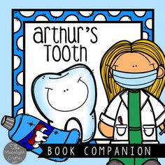 Looking for a fun book for Dental Health Month?  Use the book Arthur's Tooth by Marc Brown along with these materials for literacy and math activities! INCLUDES:  Printables for: MAKING PREDICTIONSBEGINNING MIDDLE AND END SENTENCE SEQUENCE CUT AND PASTE ARTHUR'S TOOTH MAKE A WORD HOW WOULD YOU HELP ARTHUR: TEXT TO SELF WRITINGSTORY MAPPROBLEM AND SOLUTION CHARACTER DETAILS BUMP GAME BOARD (MATH) ROLL AND COVER (MATH) ROLL AND COLOR COMPREHENSION QUESTION CARDS AND ARTHUR'S TOOTH GAME…