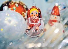 Russian Christmas Toys - Matreshka А шарик вернулся
